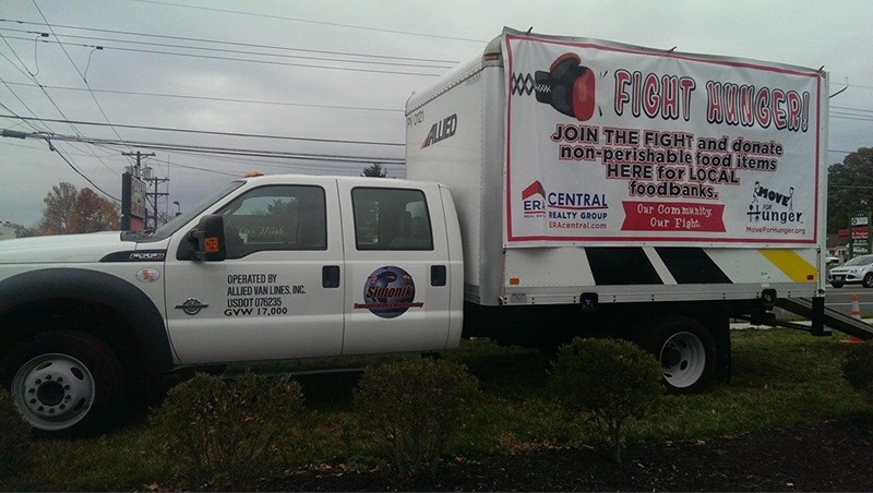Simonik Transportation & Warehousing Provided Boxes and Trucks to Local Events in New Jersey