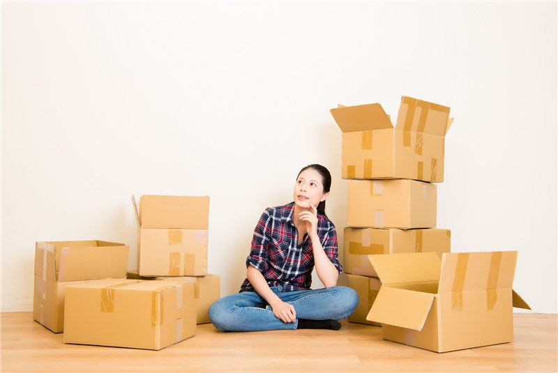 Creative Ways to Use Boxes After Your Move