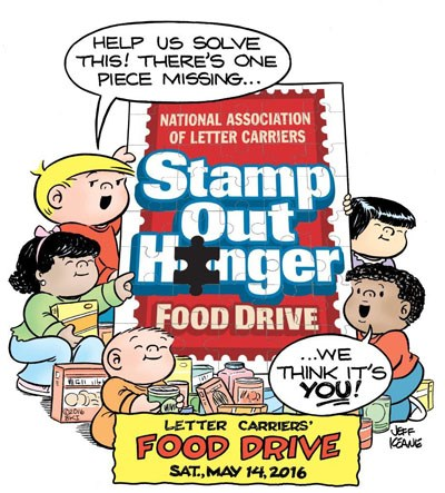 Stamp Out Hunger® Food Drive