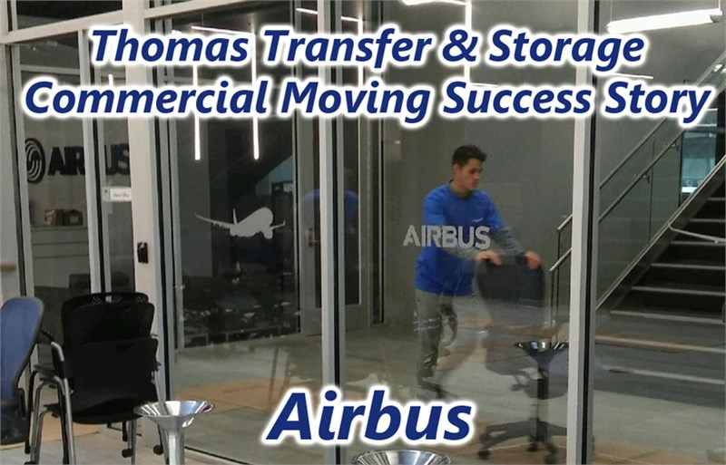 Wichita Commercial Moving Spotlight - Airbus