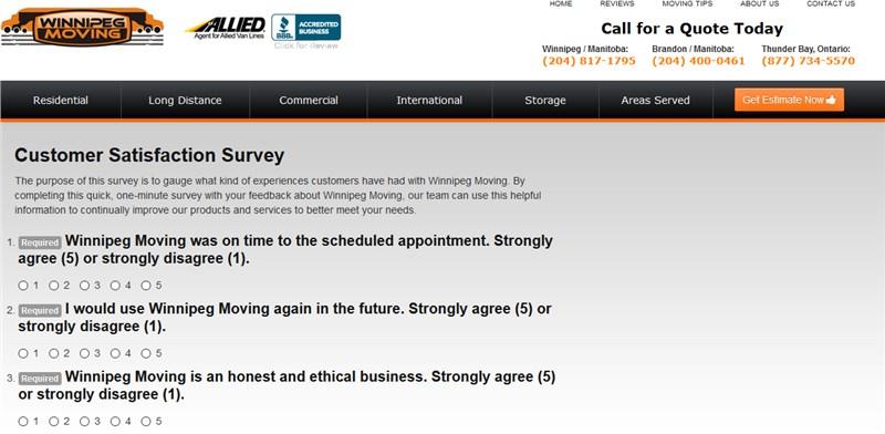 Customer Survey - We want your feedback!