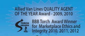 BBB Torch Award Winner for Marketplace Ethics and Integrity 2010, 2011, 2012
