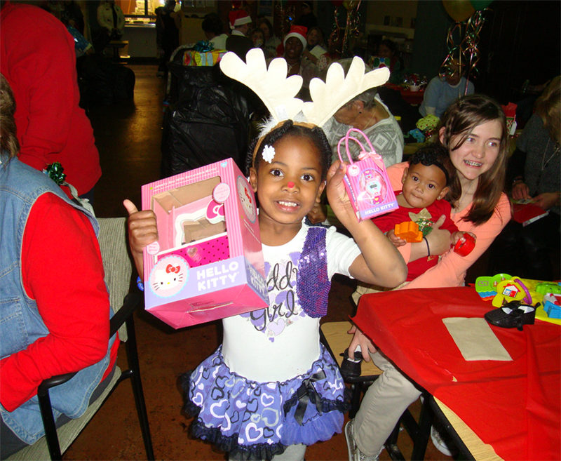 Holiday Celebrations for Families in Need