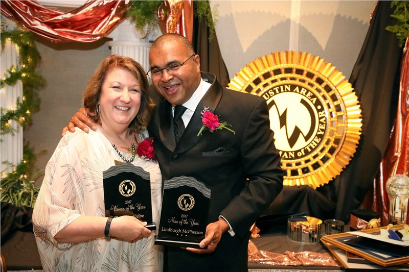 Tustin area man and woman of the year
