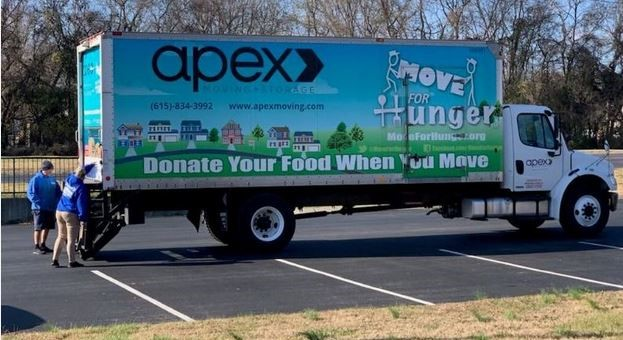 Apex Moving + Storage's Annual Turkey Giveaway Collects Over 140,000 Pounds