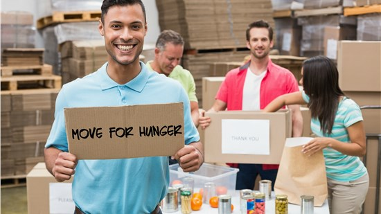 Move For Hunger - Get Involved!