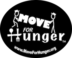 ARNOFF PARTNERS WITH MOVE FOR HUNGER, THE NATIONAL HUNGER RELIEF ORGANIZATION
