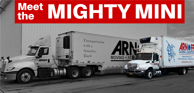 Arnoff's Solution for Smaller, High Value Shipments