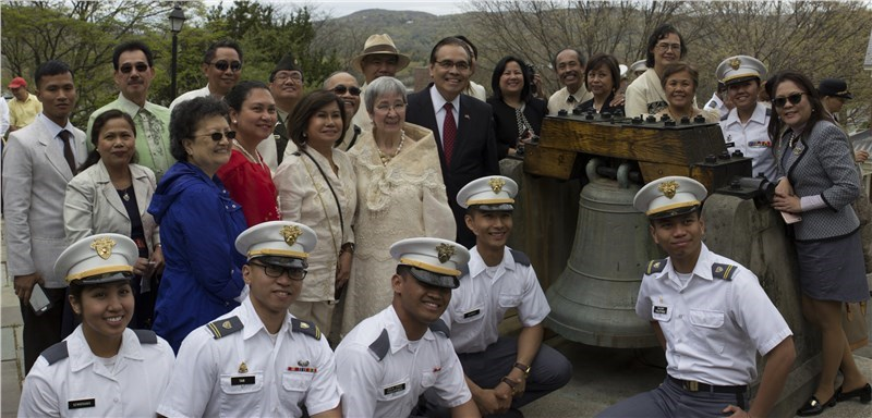 How Arnoff Global Logistics Prepared the San Pedro Bell for an   8,000 mile Journey from West Point to the Philippines