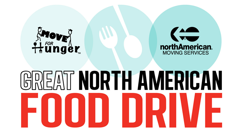 Move for Hunger & Arnoff Moving & Storage Team Up as Part of The Great northAmerican Food Drive
