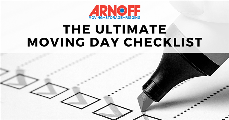 The Moving Day Checklist You Can't Move Without