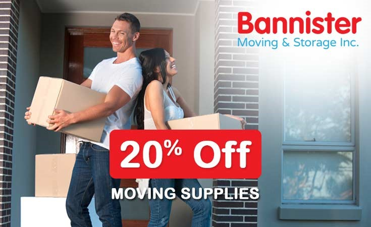 20% Off Moving Supplies
