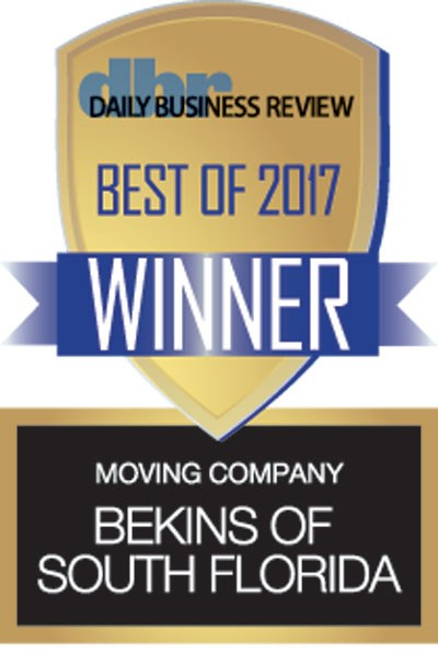 Bekins South Florida Awarded Best Moving Company 6th Year in a Row