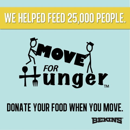 Bekins of South Florida has Delivered 75,000 Meals to Local Food Bank
