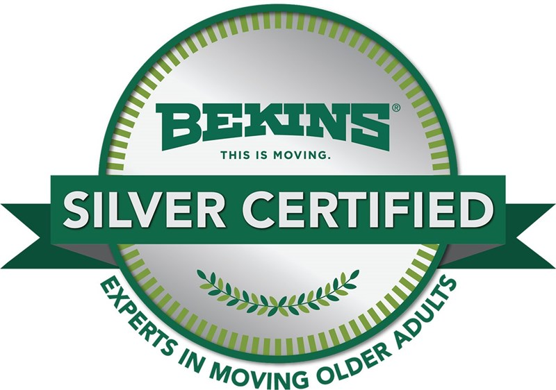 Bekins of South Florida are Silver Certified Senior Moving Experts