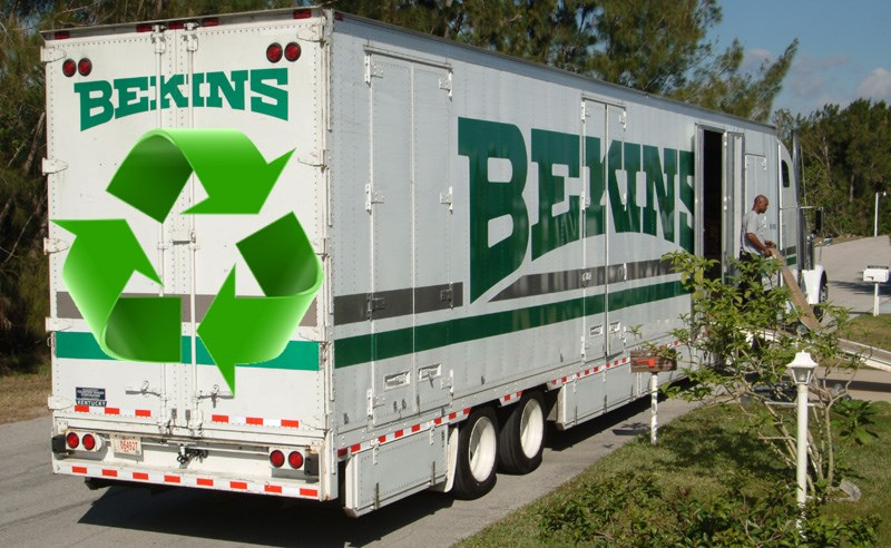 Bekins of South Florida Helps the Environment With Every Move