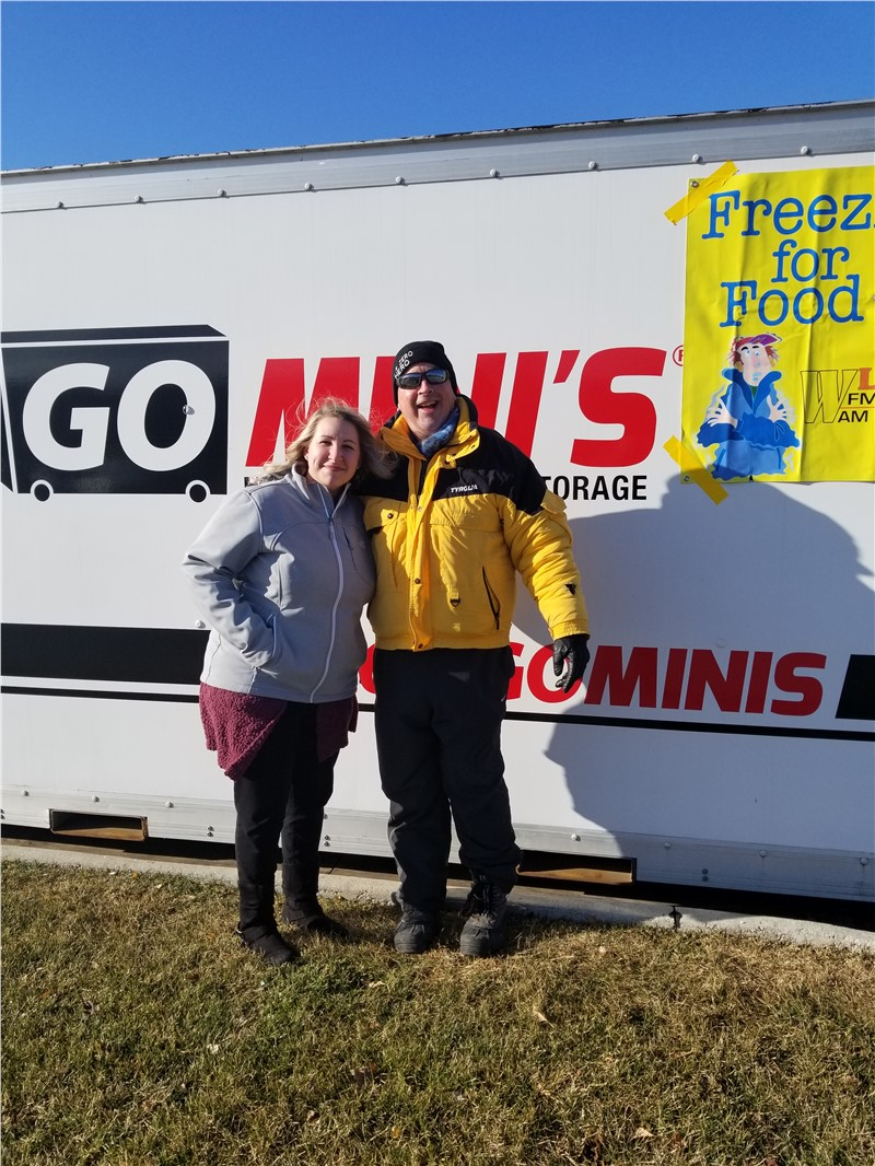 Blackhawk Moving and Storage Supports 19th Annual Freezin' for Food