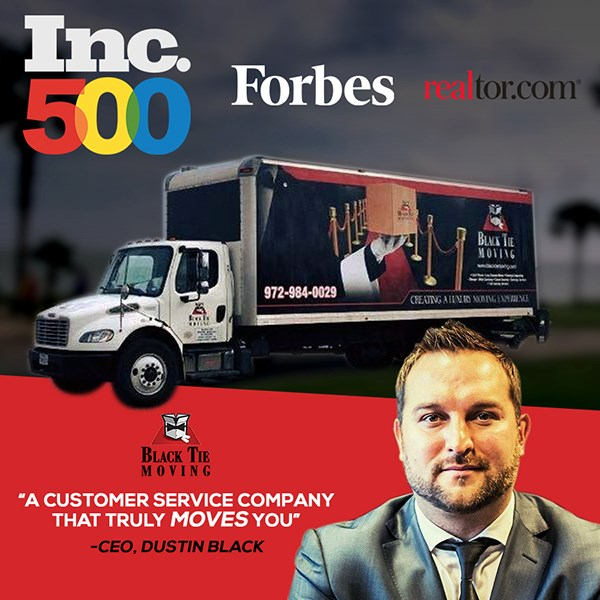 Inc500 List - Black Tie Moving