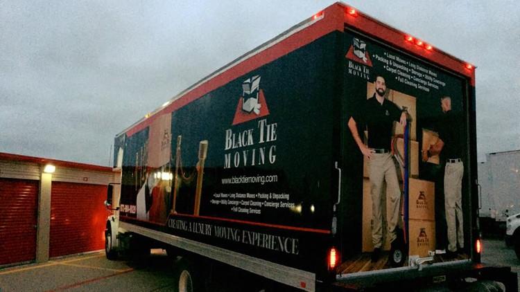 Storage Moving Company San Antonio Tx Black Tie Moving