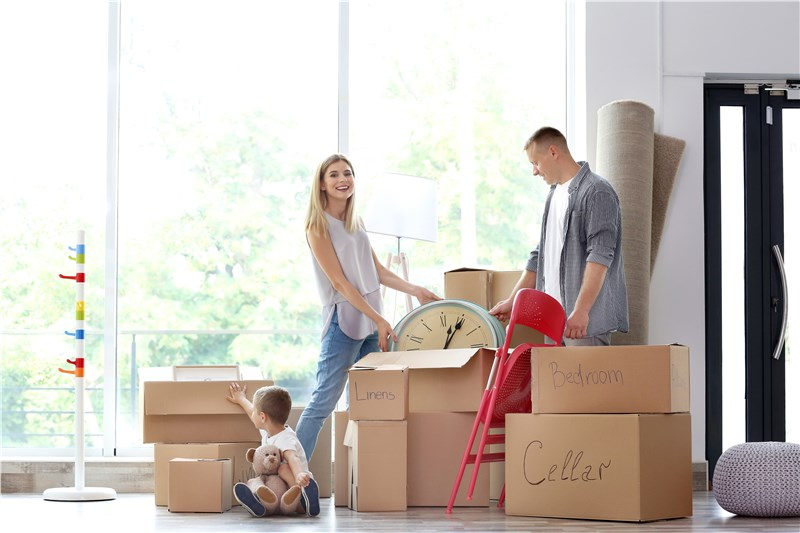 How to Unpack in Your New Home