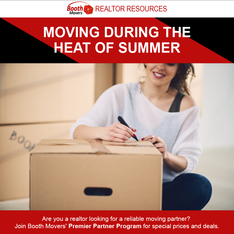 Moving During The Heat Of Summer