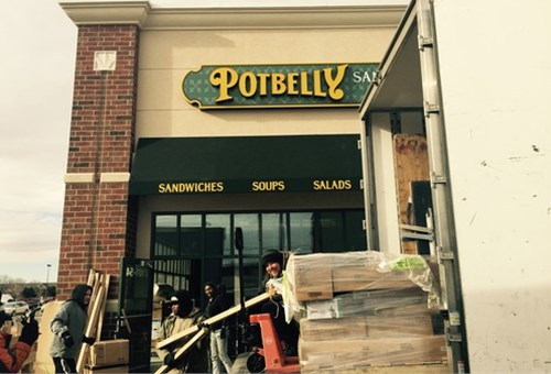 Potbelly Is Coming to Sioux Falls, South Dakota With The Help of Brouwer Relocation.