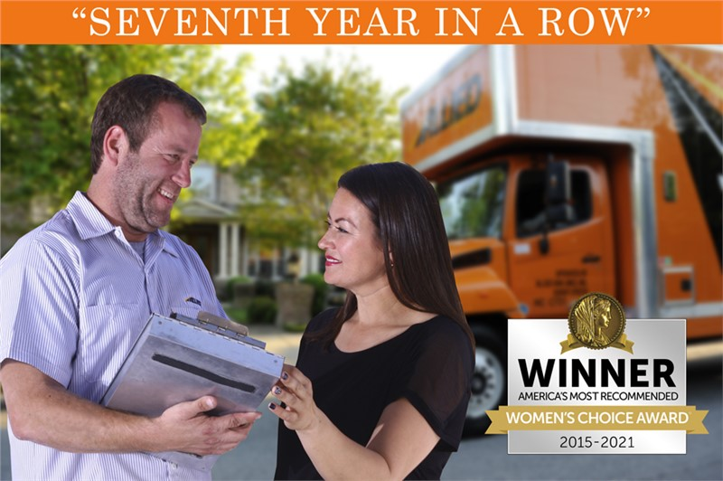 Allied Van Lines Recognized by the Women's Choice Award for the Seventh Year in a Row