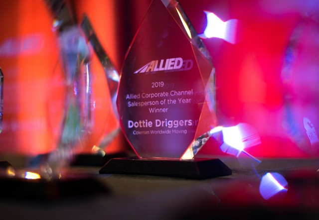 Driggers Recognized as Corporate Salesperson of the Year by Allied Van Lines