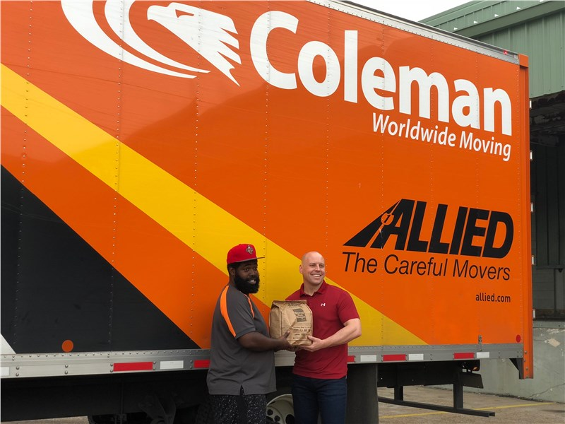 Coleman Assists With Stamping Out Hunger and Collect Over 25,000 Lbs
