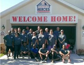 Digging Homes for Heros