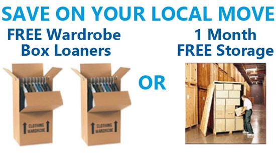 Local Moving Specials
