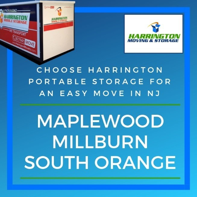 Harrington Portable Storage for your Next Move/Remodel in NJ