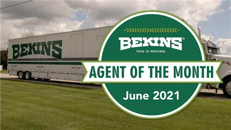 Maffucci Moving & Storage Selected as Bekins' Agent of the Month - June 2021