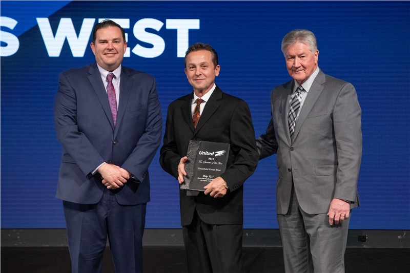 Merit Moving Systems Driver Wins United Van Lines' Operator of the Year Award