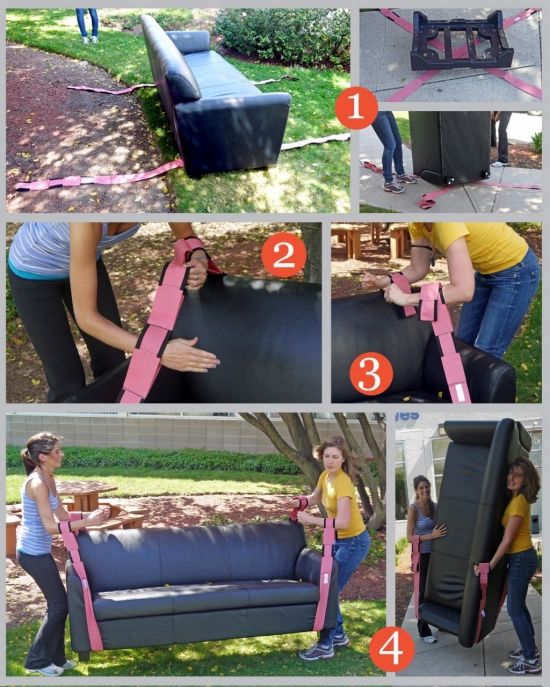 Tips For Moving Heavy Furniture How To Use Moving Straps