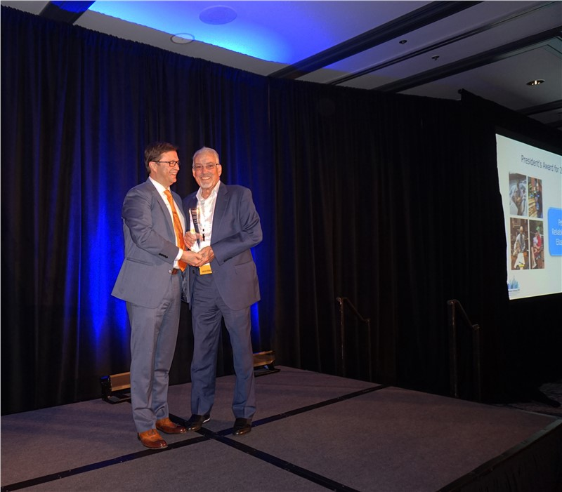 "Reliable Van & Storage Owner Peter Toscano Wins ""President's Award"" for the Second Time"