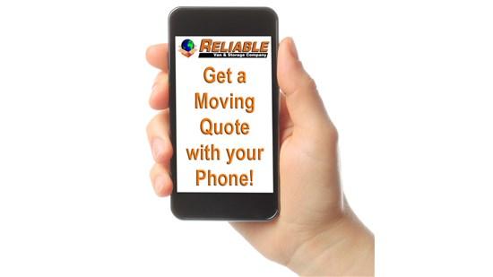 Reliable Van & Storage is now doing virtual surveys!