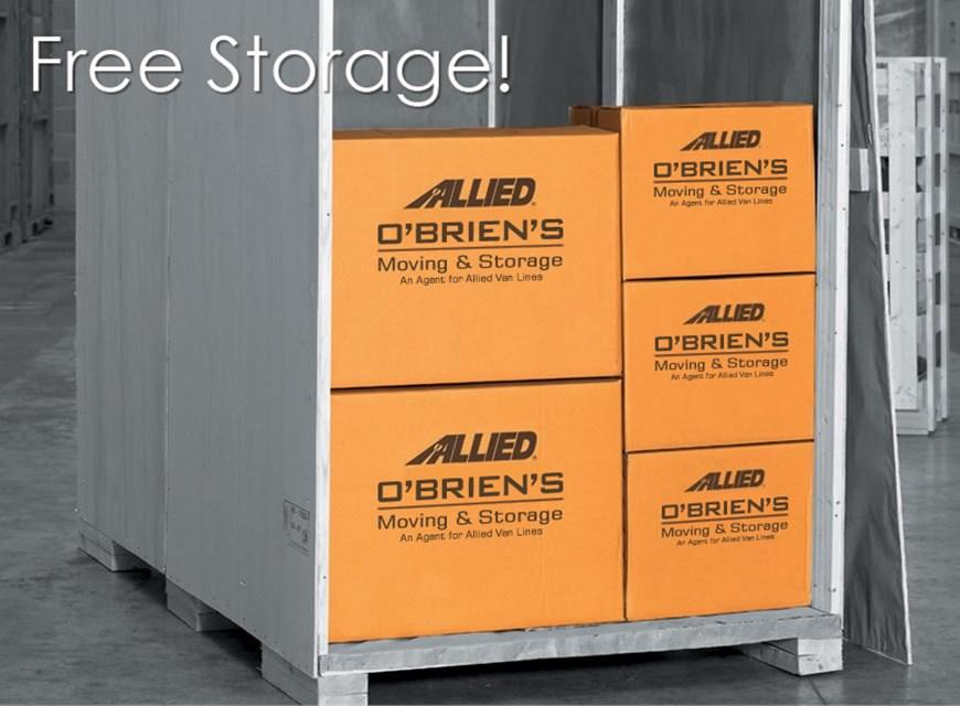 First FREE Month Storage!