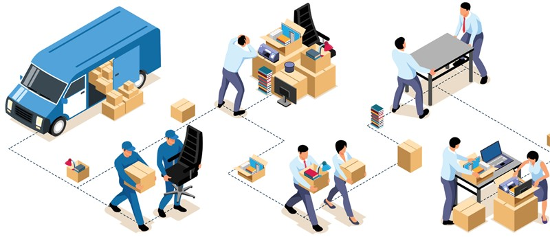 Portland Office Movers Reveal Top States Preferred by Relocating Businesses