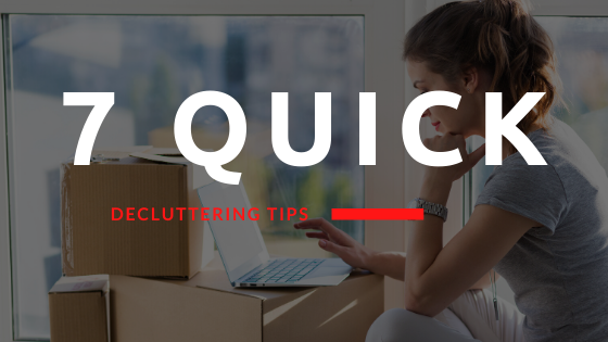 7 Quick Decluttering Tips for a Move