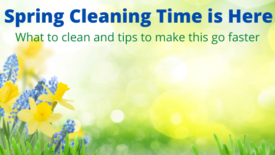 Spring Cleaning Time is Here