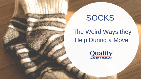 Socks: The Weird Ways They Help During a Move