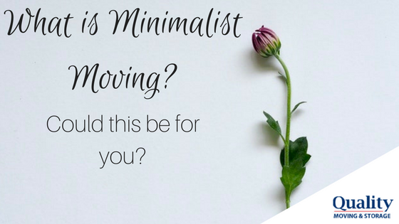 What is Minimalist Moving?