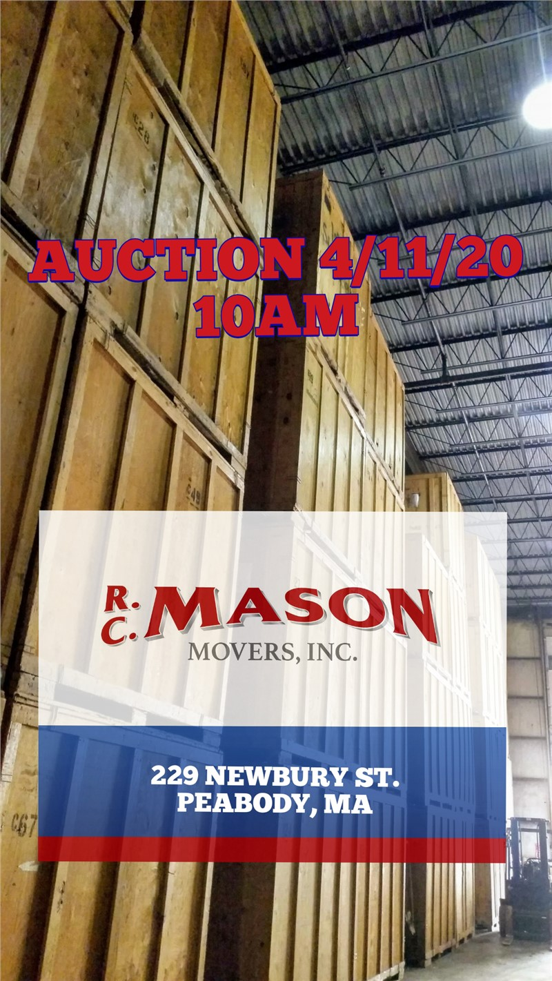 R.C. Mason Spring Auction April 11th