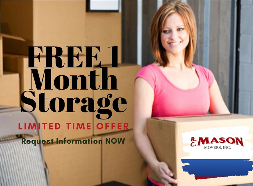 moving company storage special