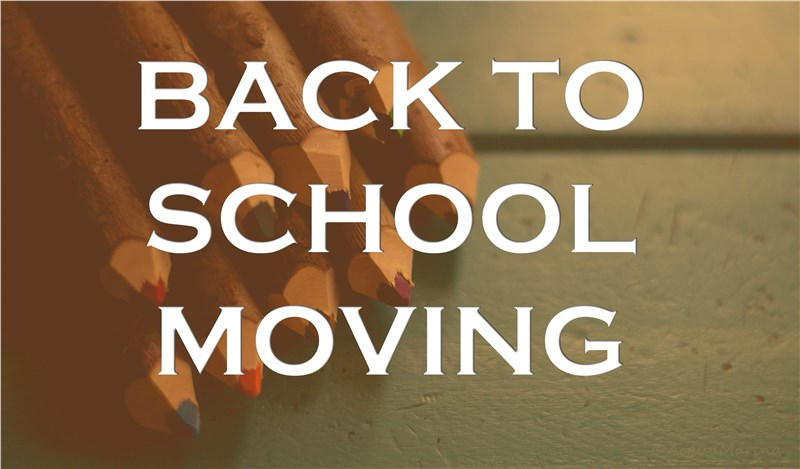 BACK TO SCHOOL MOVING