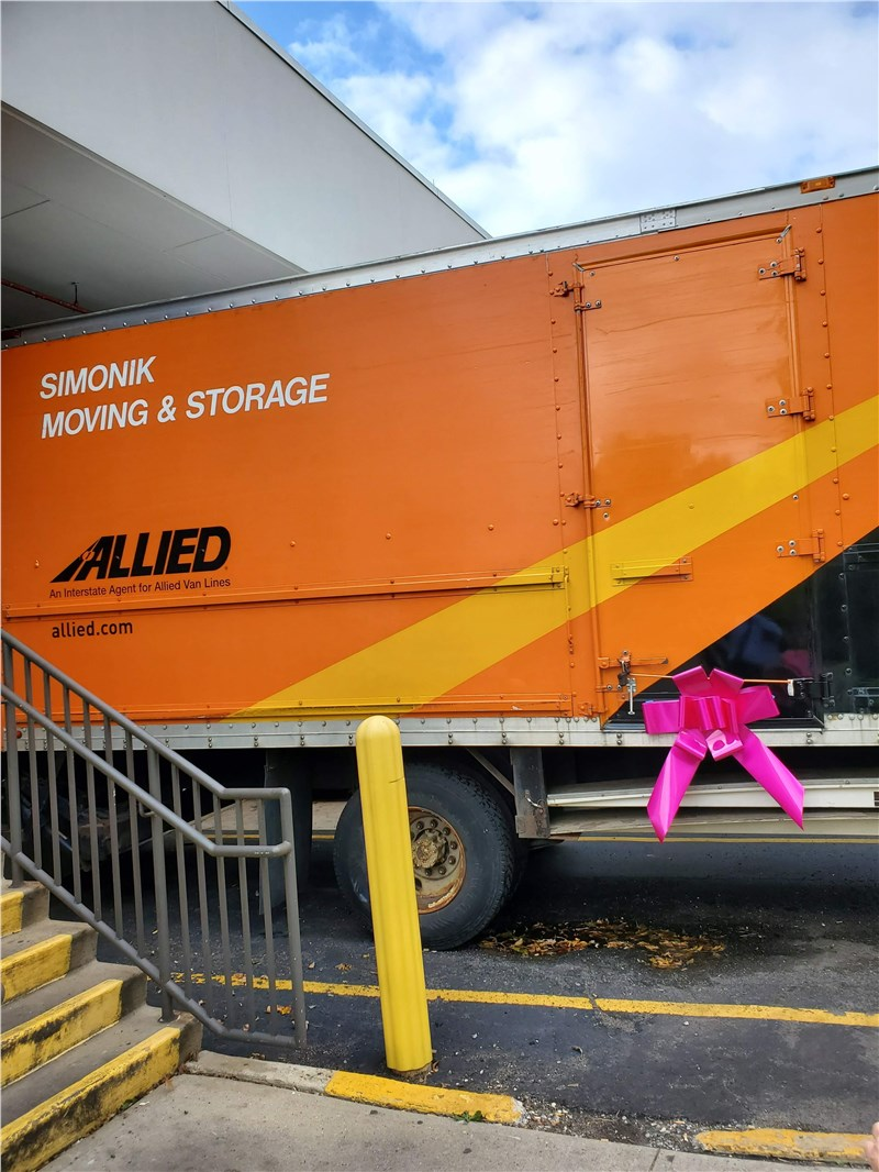 Simonik Moving & Storage Supports Local Charities