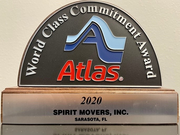 Spirit Movers Receives Atlas 2020 World Class Commitment Award