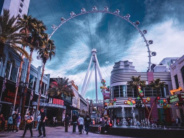 Las Vegas scene