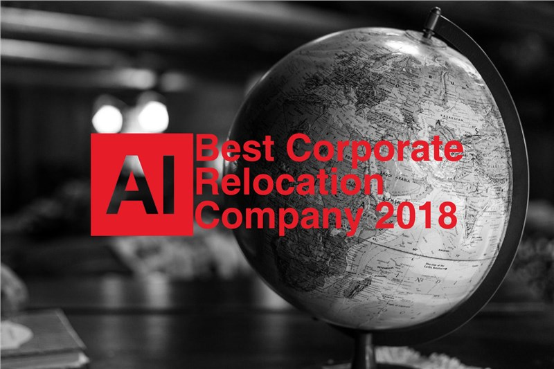 Named Best Corporate Relocation Company 2018
